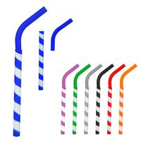 786044949-816 - GreenPaxx® Tie-Dye Cool Straw™ With Clipster - thumbnail