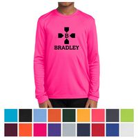 795437248-816 - Sport-Tek® Youth Long Sleeve PosiCharge® Competitor™ Tee - thumbnail