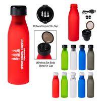 795974526-816 - 20 Oz. Tritan™ Merge Bottle With Wireless Earbuds - thumbnail