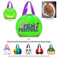 796101839-816 - Reflective Holiday Laminated Non-Woven Tote Bag - thumbnail