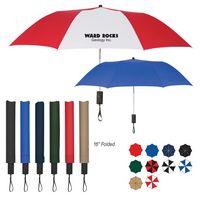 "903966676-816 - 44"" Arc Automatic Open Telescopic Folding Umbrella - thumbnail"