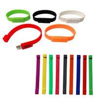 904586410-816 - Silicone Bracelet USB - thumbnail