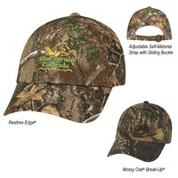 913999212-816 - Realtree® And Mossy Oak® Hunter's Hideaway Camouflage Cap - thumbnail