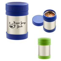 915062179-816 - 12 Oz. Stainless Steel Insulated Food Container - thumbnail