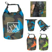 915703299-816 - Camo Waterproof Dry Bag - thumbnail