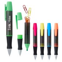 945441359-816 - 3-In-1 Executive Assistant Highlighter Pen - thumbnail
