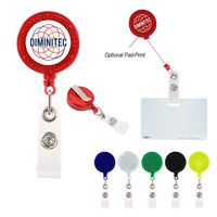 956097907-816 - Reflector Retractable Badge Holder - thumbnail