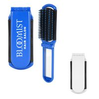 96551306-816 - Kwik-Fix Folding Brush With Mirror - thumbnail