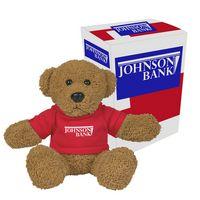 """995013520-816 - 6"""" Ole' Time Rag Bear With Custom Box - thumbnail"""