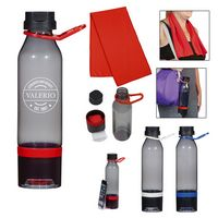 995437241-816 - 22 Oz. Energy Sports Bottle With Phone Holder and Cooling Towel - thumbnail