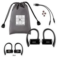 995760085-816 - Sporty Wireless Earbuds With Pouch - thumbnail