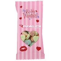 996292714-816 - Clear Plastic Snack Pack Bag with Conversation Hearts - thumbnail