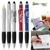 395907894-169 - Curvaceous Stylus Cap Highlighter Pen - thumbnail