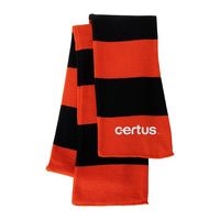 945001992-169 - Sportsman Rugby Striped Knit Scarf - thumbnail