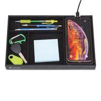 106451578-112 - Truman Wireless Charging Accessory Tray - Black - thumbnail