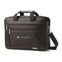 155003440-112 - Samsonite Classic Business Perfect Fit Two Gusset Computer Portfolio - Black - thumbnail