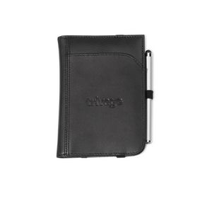 174573439-112 - Gateway Leather Passport Wallet - Black - thumbnail