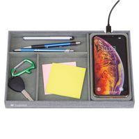 506451579-112 - Truman Wireless Charging Accessory Tray - Medium Grey Heather - thumbnail