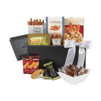 515679642-112 - Sunsational Executive Gourmet Keepsake Box Black - thumbnail