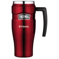 564700576-112 - Thermos® Stainless King™ Travel Mug - 16 Oz. Red - thumbnail
