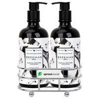 726451715-112 - Beekman 1802 Vanilla Absolut Soap & Lotion Gift Set - Chrome Plated Metal - Beekman - thumbnail