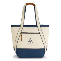746313744-112 - Cabana Cotton Boat Tote - New Navy - thumbnail