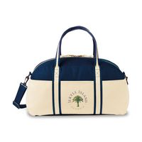756451329-112 - Nantucket Cotton Weekender Bag - Navy - thumbnail