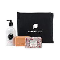 776259309-112 - Beekman 1802 Farm To Skin Lotion & Bar Soap Gift Set - Black-Honeyed Grapefruit - thumbnail