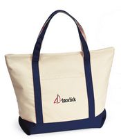78765161-112 - Harbor Cruise Boat Tote - Navy Blue - thumbnail