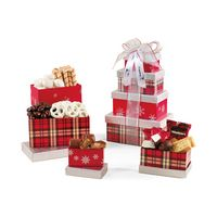 945774599-112 - Festive Holiday Sweets Tower Red-Silver - thumbnail