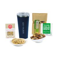 946283755-112 - Corkcicle® Welcoming Wonder Tumbler Gift Box - Gloss Navy - thumbnail