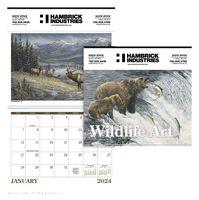 "115470859-138 - Triumph® Wildlife Art Executive Calendar (14""x23"") - thumbnail"