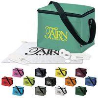 125471215-138 - KOOZIE® 6 Pack Kooler Golf Event Kit w/Titleist® TruFeel Golf Balls - thumbnail