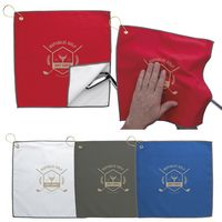 136487921-138 - Good Value® Double Layer Golf Towel - thumbnail