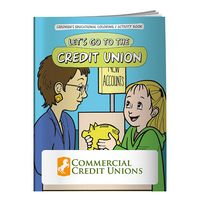 155960880-138 - BIC Graphic® Coloring Book: Let's Go to the Credit Union - thumbnail