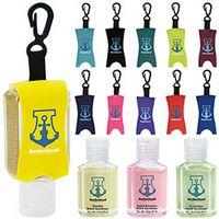 185472824-138 - 1 Oz. Good Value® Custom Label Hand Sanitizer w/Leash - Scented - thumbnail