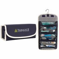 185473017-138 - Atchison® Fashion Roll Up Cosmetic Case - thumbnail