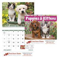 195471304-138 - Good Value® Puppies & Kittens Calendar (Spiral) - thumbnail
