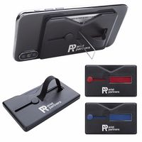 306288122-138 - Comfort Grip RFID Phone Wallet w/Stand - thumbnail