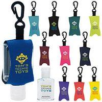 355472817-138 - 0.5 Oz. Good Value® Custom Label Hand Sanitizer w/Leash - thumbnail