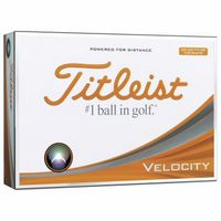355982361-138 - Titleist® Velocity® Visi-White Golf Ball - thumbnail