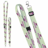 "375988143-138 - 3/4"" Universal Source™ Adjustable Polyester Lanyard - 4 Color - thumbnail"