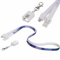 545678964-138 - Universal Source™ Charging Cable Lanyard - thumbnail