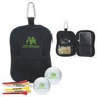555472617-138 - Titleist® Valuables Pouch Golf Kit w/DT TruSoft™ Golf Balls - thumbnail
