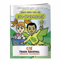 595960866-138 - BIC Graphic® Coloring Book: Eco-Superheroes - thumbnail