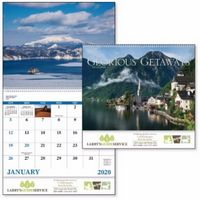 715471244-138 - Good Value® Glorious Getaways Calendar (Spiral) - thumbnail