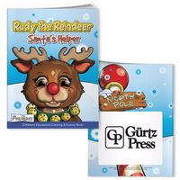 715961691-138 - BIC Graphic® Coloring Book w/Mask: Rudy Reindeer - thumbnail