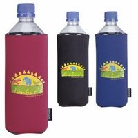 715970209-138 - KOOZIE® Basic Collapsible Bottle Kooler (Heat Transfer) - thumbnail