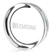 725470125-138 - Jaffa® Round Paperweight w/Flat Edge - thumbnail