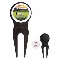 735547915-138 - Good Value® Plastic Divot Tool w/Ball Marker & Clip - thumbnail